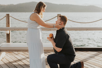Surprise Proposal on the Coeur d'Alene Boardwalk