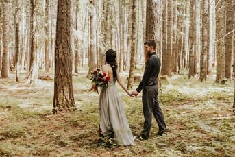 Gorgeous Forest Wedding at Twin Cedars Farm