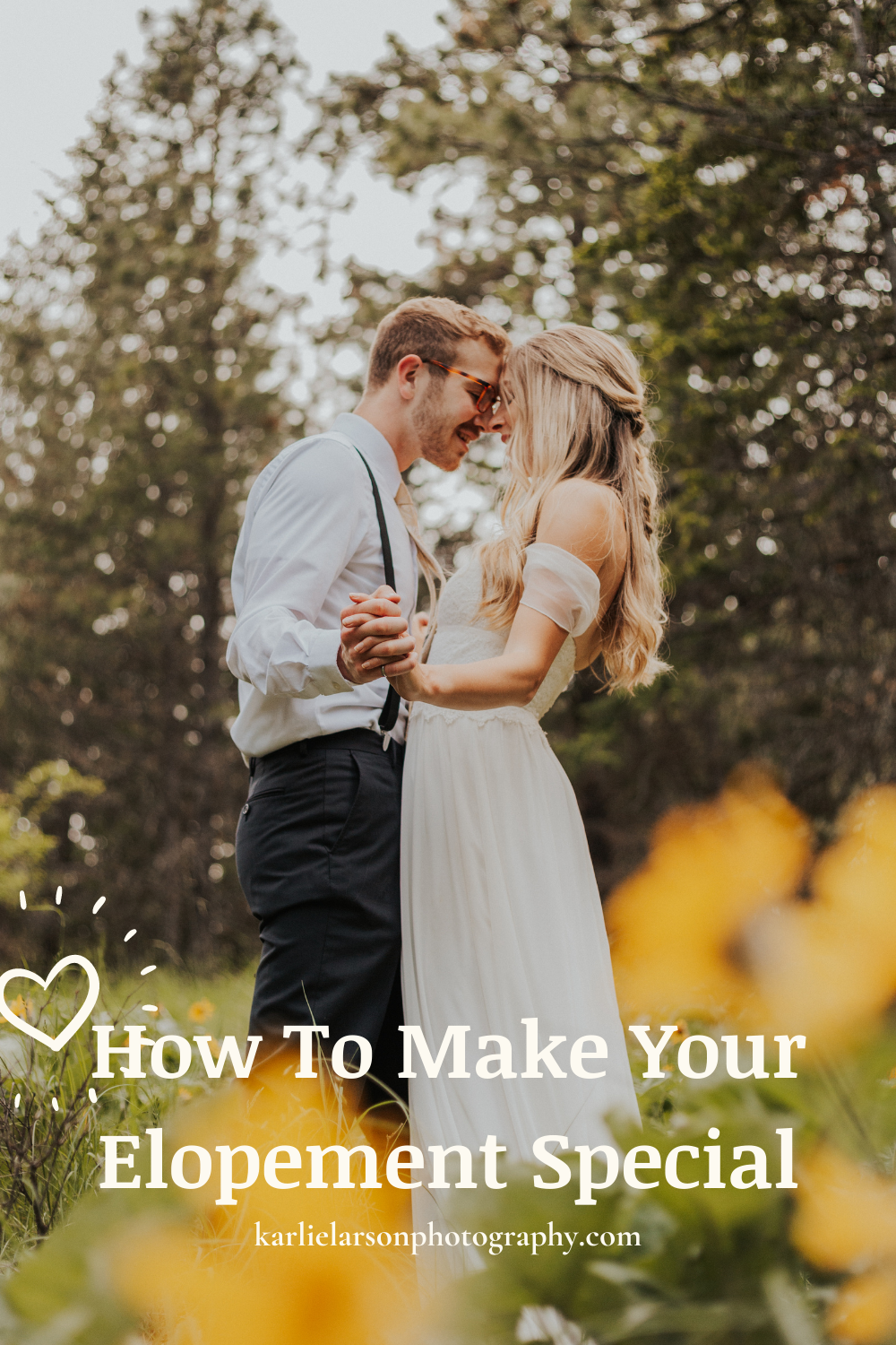 how to make your elopement special