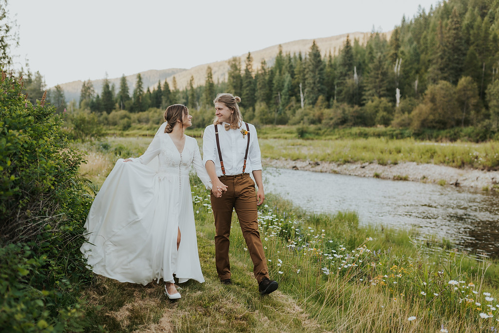 Bride and Groom Adventure Portraits