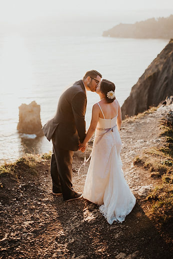 cliffside ocean bridals in oregon