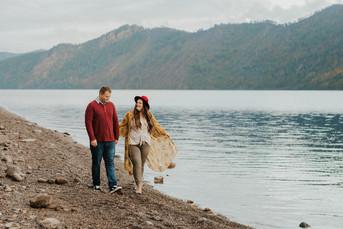 November Couples Session in Farragut State Park