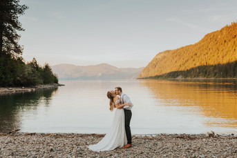 North Idaho Mountain Elopement Bridals