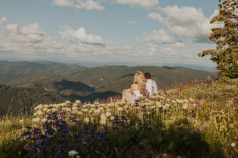 Adventure Couples Session in the Mountains