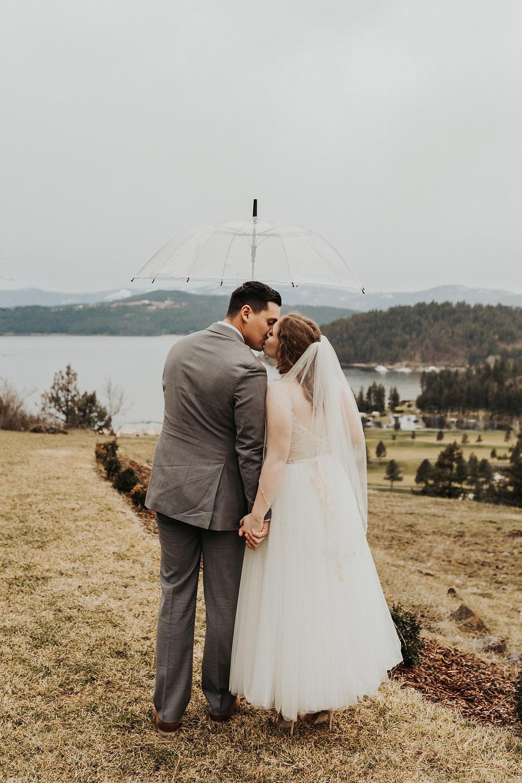 rainy day bridals on the mountain coeur d'alene idaho