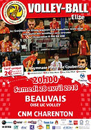 page couverture match 28 04 2018 CHARENT