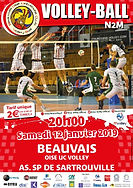 page couverture match 12 01 2019 Sartrou