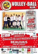 page couverture match 23 11 2019 Vesinet