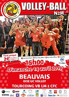 page couverture match 14 04 2019 Tourcoi