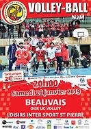 page couverture match 26 01 2019 CALAIS.