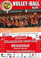 page couverture match 31 03 2019 Herouvi