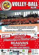 page couverture match 02 02 2020 Villers