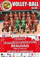 page couverture match Amiccal CS Cormeil