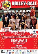 page couverture match 02 12 2018 Reims.J