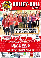 page couverture match 01 03 2020 Herouvi
