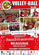 page couverture match 16 03 2019 Villers