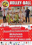 page couverture match 14 10 2017 Halluin