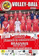 Programme de match  03 10 2020 CESSON ST