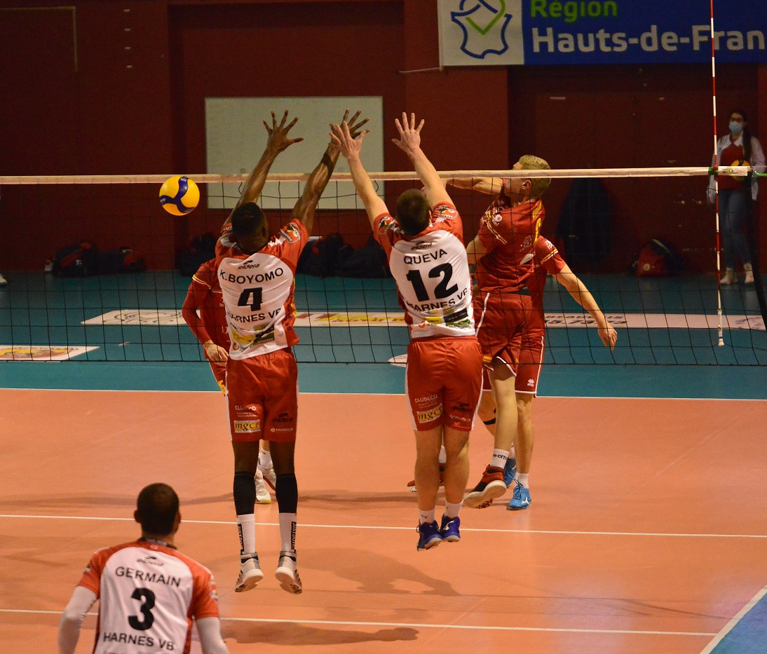 Match BOUC - HARNES VB