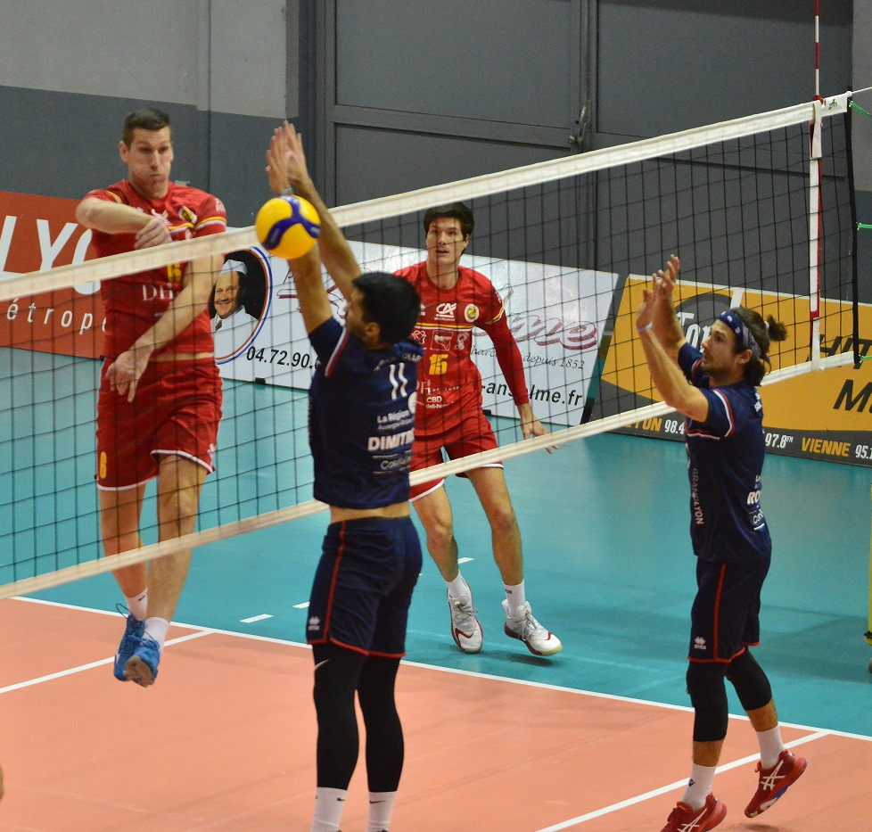 Match ASUL LYON - BOUC VOLLEY