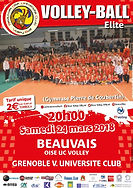 page couverture match 24 03 2018 GRENOBL