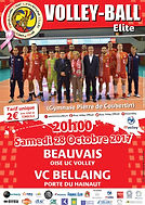 page couverture match 28 10 2017 VC Bell