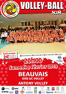 page couverture match 09 02 2019 Antony.