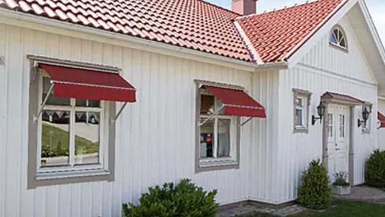 Fönstermarkiser - Solliden