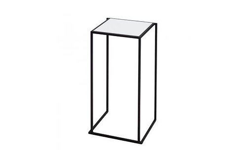 Statafel Quadrum 60x60 zwart-wit