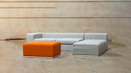 Blocks Loungeset + Hocker (kleur naar keuze)