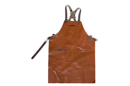 Tiger Fire Leather Apron
