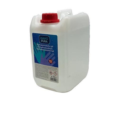 Hydroalcoholische handgel 80% (5 liter)