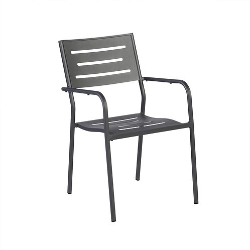 Hawaii Dining Armchair Anthracite