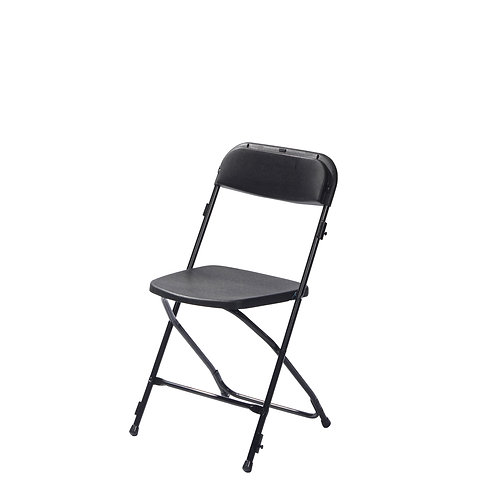 Klapstoel Zwart