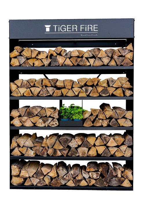 Tiger Fire Wood Rack 160