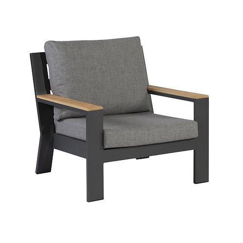 Valerie Lounge Armchair Anthracite