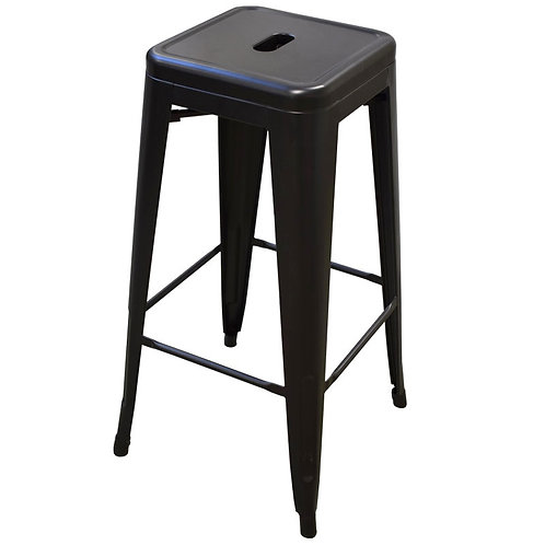 Industrial Barchair Black