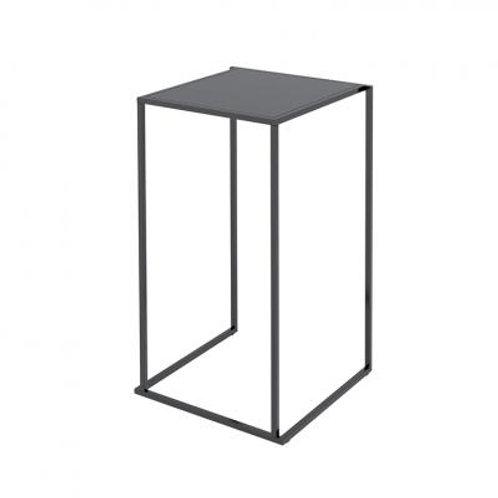 Statafel Quadrum 60x60 zwart