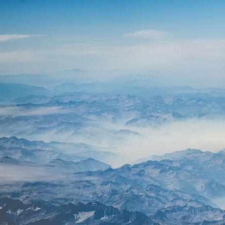 Sobre las montañas