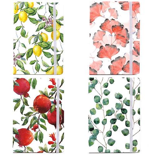A5 Notebook - Vintage Floral Designs