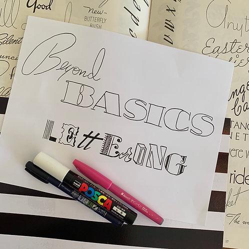 Beyond the Basics - Online Class