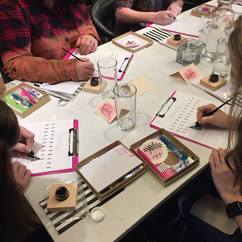 Intro to Modern Calligraphy - Virtual Class