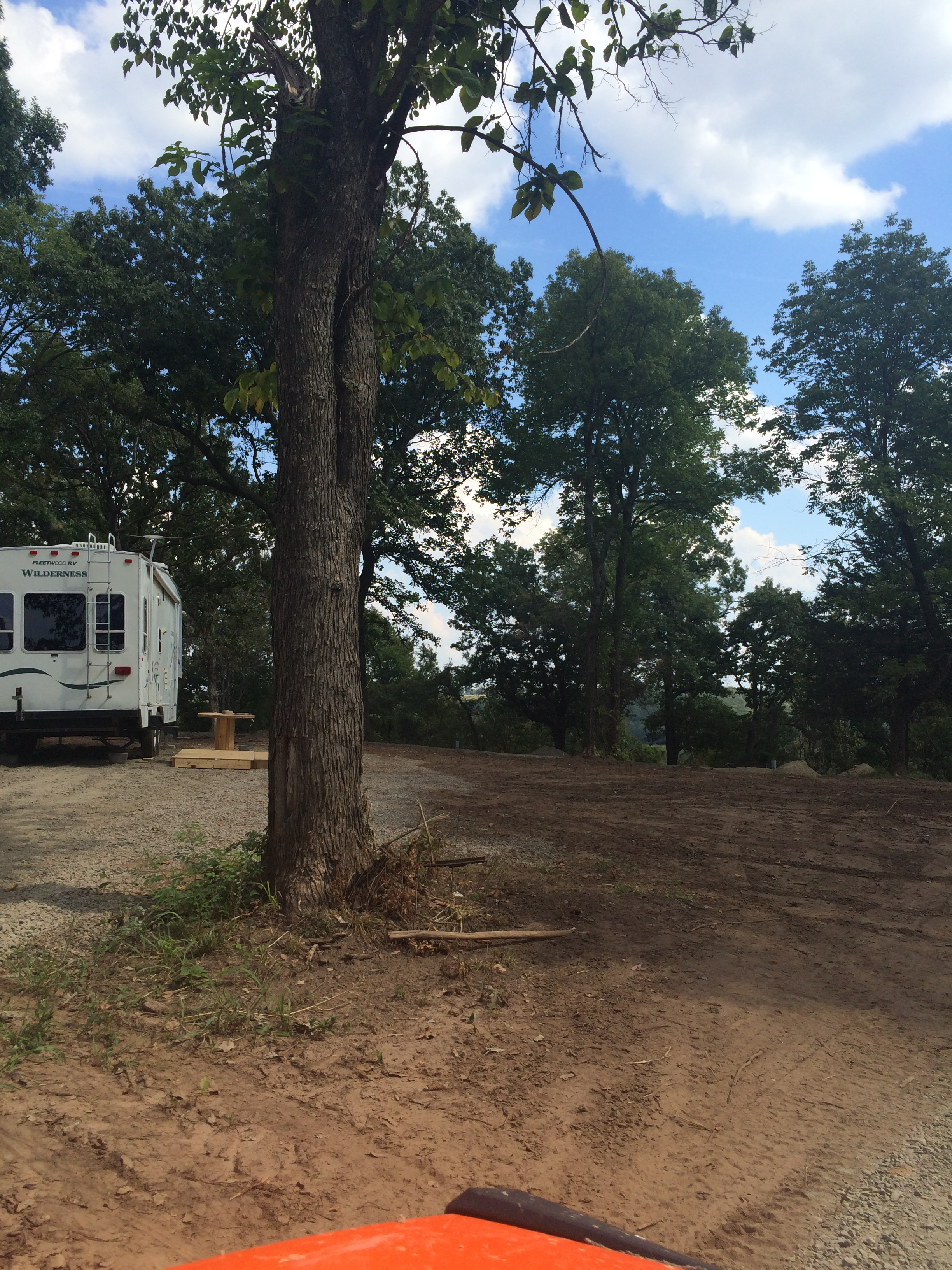 Campers Using the RV Sites