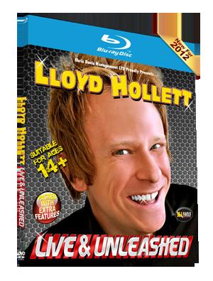 Lloyd Hollett Live & Unleashed - Blu-Ray