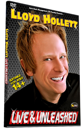 Lloyd Hollett Live and Unleashed DVD