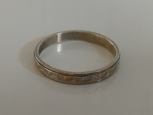 Small sterling silver ring