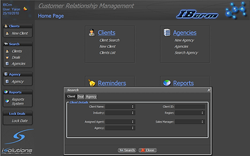 iSolutions - IB CRM - Sales Management for Radio & TV