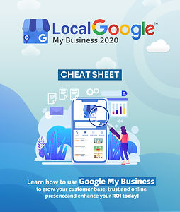Local Google My Business 2020 Cheat Shee