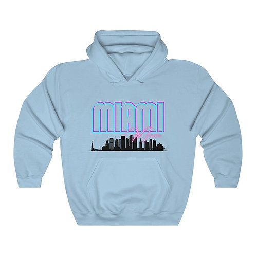 Miami Hoodie Sweatshirt (Unisex)
