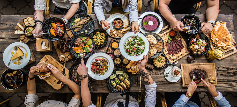 table with food, top view.jpg